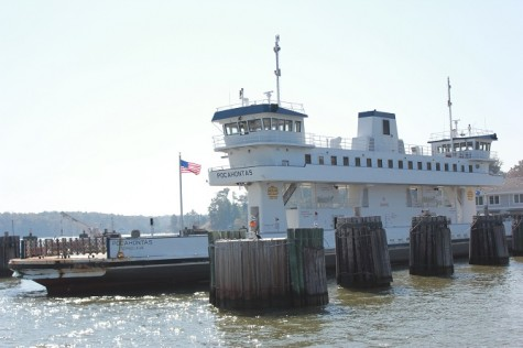 """The """"Pocahontas"""" has been in service since 1995 and can carry 70 vehicles. The new boat, which will replace an older boat, will likely look similar to the """"Pocahontas."""" (Photo courtesy VDOT)"""