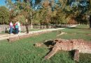 A National Park Service ranger gives a tour of Historic Jamestowne. The Colonial National Historical Park might have to reduce days of service and freeze hiring of seasonal workers if sequestration occurs. (Photo Courtesy of National Park Service, Colonial National Historical Park)