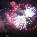 Fireworks at Yorktown's Riverwalk. (photo courtesy York County)