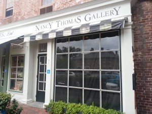 Blackbird Bakery will soon occupy the space left vacant by Nancy Thomas Galleries. (Photo by Brittany Voll/WYDaily)