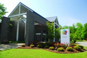 A photo of the existing Peninsula Fine Arts Center. (Photo courtesy PFAC at CNU)
