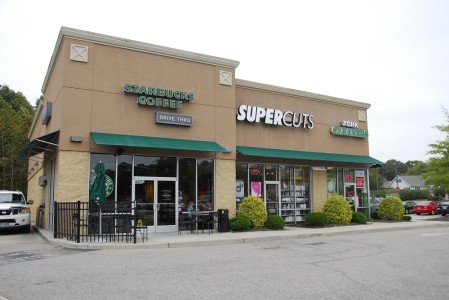 Paul Augustus Fuller, a 55-year-old North Carolina man, has been arrested in connection to a string of July burglaries along Route 17. Among the businesses Fuller is accused of burglarizing are the Supercuts and York Cleaners pictured here. He also attempted to break into the Starbucks in this building, however he was unsuccessful. (Gregory Connolly/WYDaily)