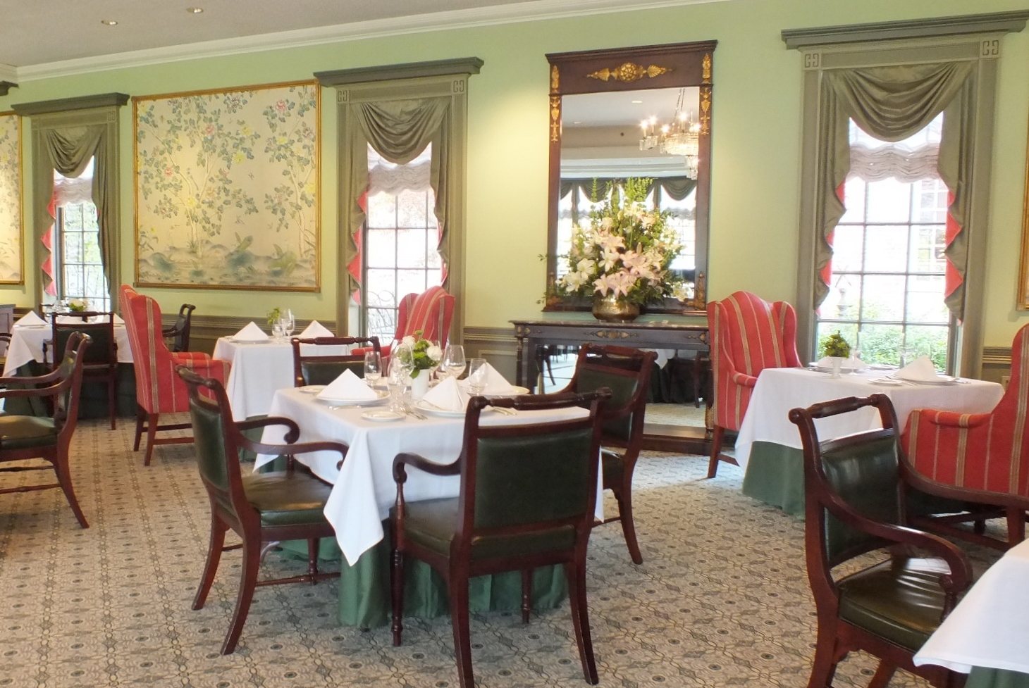 The Reopened Regency Room Features New Furniture And A Softer, More  Intimate Atmosphere (Hannah