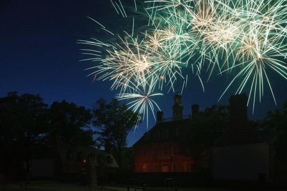 Where to see Independence Day fireworks in the Historic Triangle