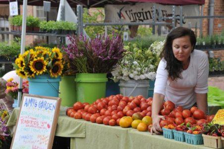 (Photo courtesy of the Williamsburg Farmers Market)