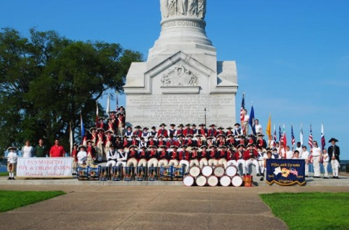The Fifes and Drums of York Town with Michagan's Plymouth Fife and Drum Corps (Submitted)
