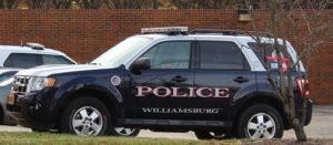 Williamsburg Police car