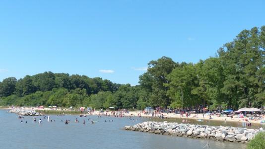 Jamestown Beach Park (Photo courtesy James City County)