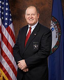 "Williamsburg-James City County Sheriff Robert ""Bob"" Deeds (Courtesy WJCC Sheriff's Office)"