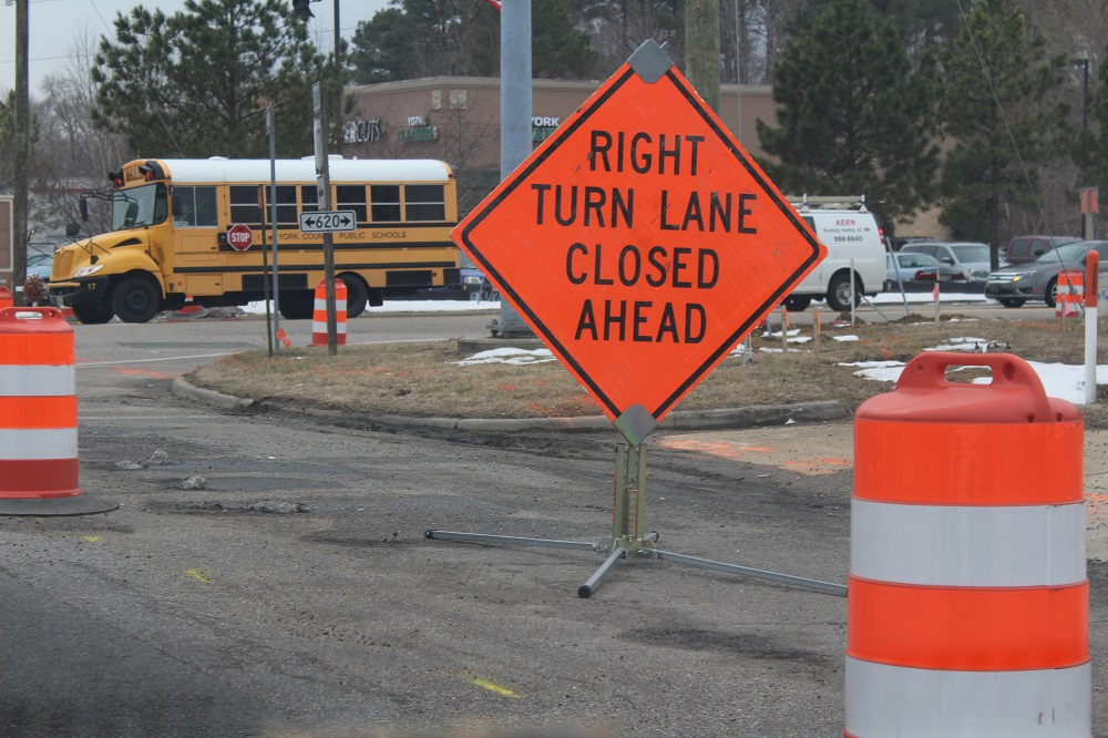 Single Nighttime Lane Closures Expected on Route 17 This