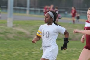 Tabb forward Leah Tyson was named a first-team All-State selection for Group 4A. (file photo)