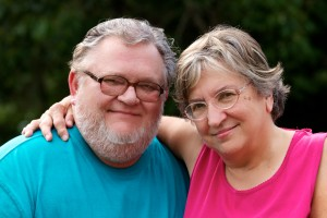 Rev. Holland and his wife, Diane Holland