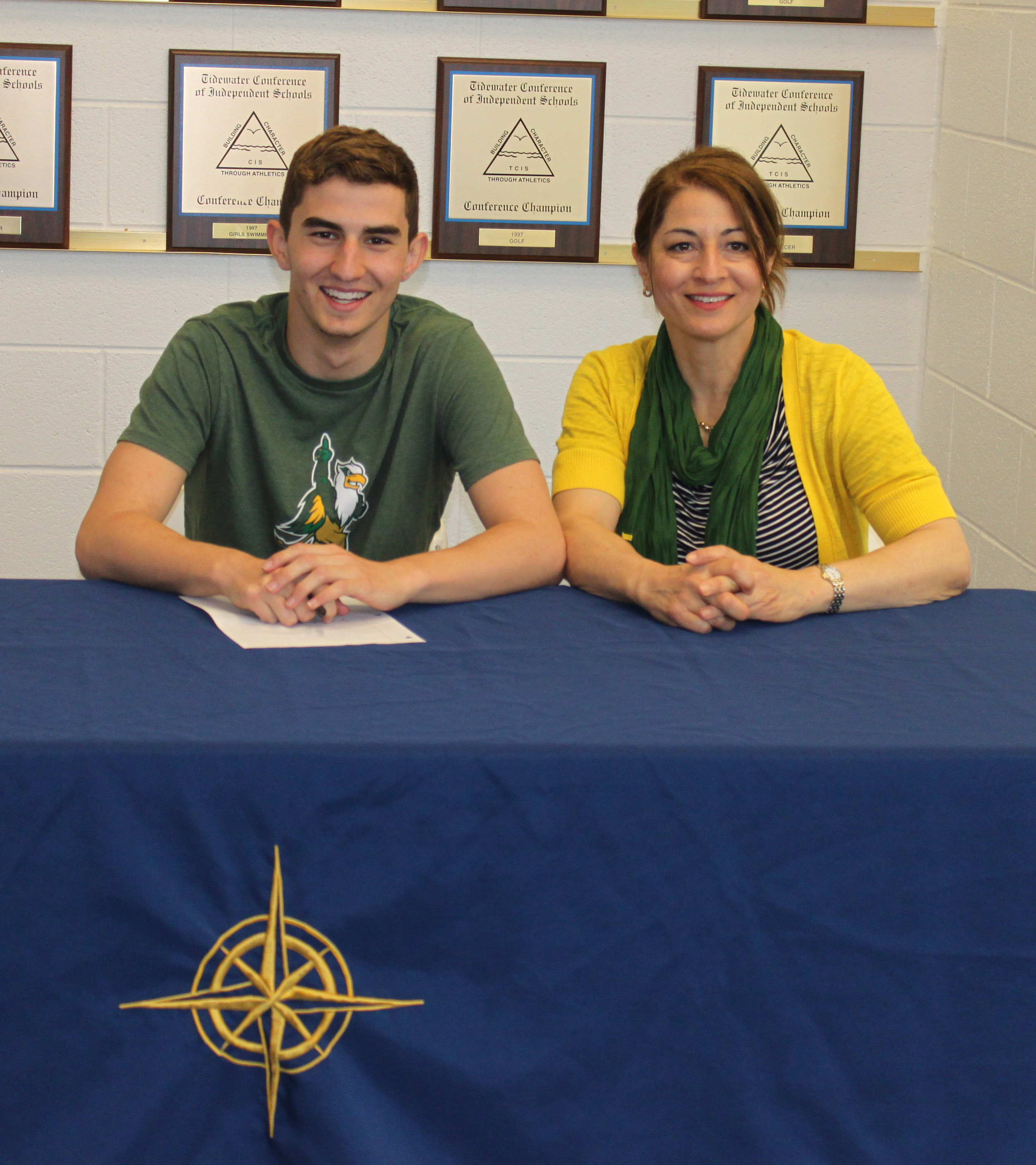 HRA Swimming Standout Joey Rento Signs Letter of Intent to ...