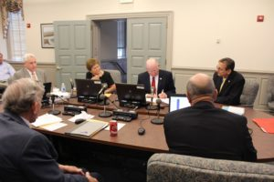 The York County Board of Supervisors at their May 5 work session. (Marie Albiges/WYDaily)