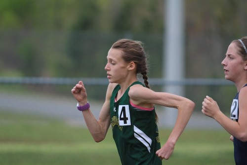 Clara Wincheski took home a Conference 33 championship in the 3,200-meter run. (file photo)