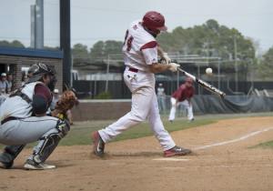 Former York baseball player Ryan Hendrickson was named a USCAA First-Team All-American. (Ricky Thompson/Newport News Shipbuilding Photography)