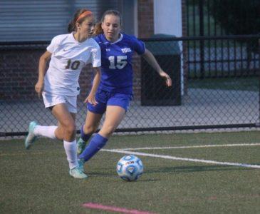 Hannah Potter, Livia Abrahamson, Lafayette, York Girls Soccer