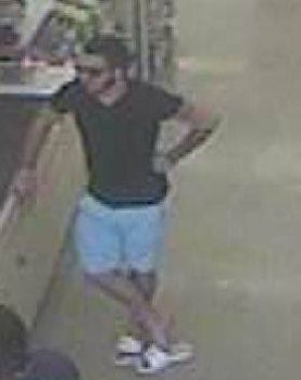 The man pictured is accused of using a stolen credit card number to make purchases at Food Lion. (Courtesy YPSO)