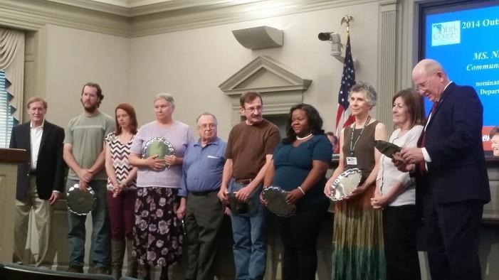 York County Celebrates 2014's Outstanding Volunteers