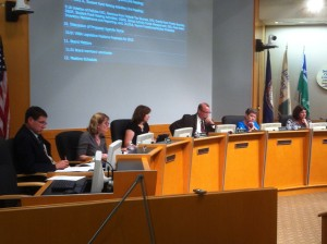 The Williamsburg-James City County School Board approved its budget for next year Tuesday night. (Ian Brickey/WYDaily)
