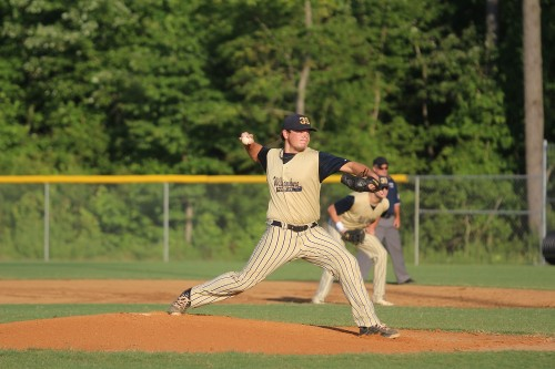 Blake Otey threw 5 1/3 innings, allowing three hits and one earned run. (Ty Hodges/WYDaily)
