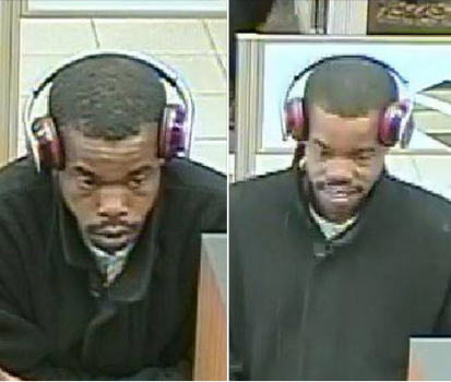 The man pictured is accused of cashing fraudulent checks in Upper York County. (Courtesy YPSO)