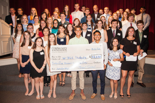 WJCC students were honored in scholarship awards ceremony this past Sunday.