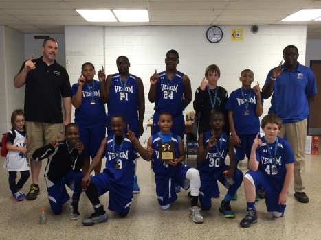 The Virginia Venom sixth grade boys basketball team will be competing at the national level in July. (Submitted photo)