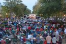 The Summer Breeze concert series features party and military band music Wednesdays in July and August. (Staff Photo)