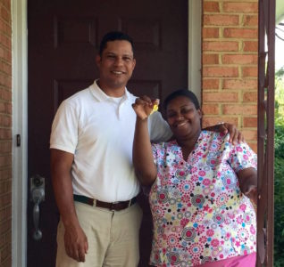 Linda Brown was one of the individuals helped by Home for Good's pilot program. She was previously living in a hotel, but is now settled in a more permanent housing situation. (Courtesy United Way.)