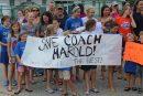 Save Coach Herald sign