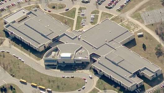 The Grafton Middle and High School complex will undergo roof renovations this summer. (Courtesy York County School Division)