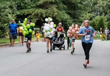 A record number of runners and walkers turned out for the Superhero 5K last Saturday. (Courtesy CDR)
