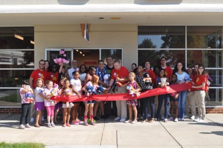 James City County Supervisor Jim Kennedy (Stonehouse) attended the ribbon cutting event Aug. 12. (Courtesy James City County)