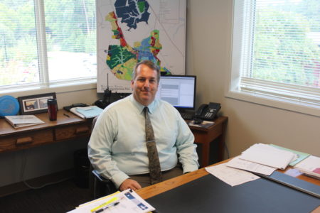 Marvin Collins III took over as Williamsburg city manager Aug. 1. (Ian Brickey/WYDaily)