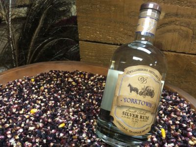 The rum, gin and bourbon produced by Williamsburg Distillery will be produced with authentic colonial ingredients such as molasses and Indian corn. (Elizabeth Hornsby/WYDaily)