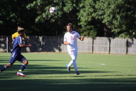 Landon Gero scored his first goal of the season on Tuesday. (file photo)