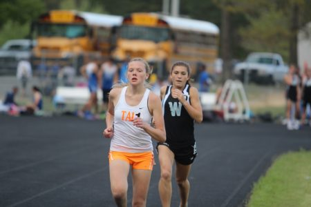 Tabb's Lindsey Blanks will be one of the top runners in the Historic Triangle this year. (file photo)