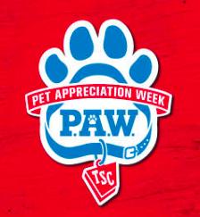 Pet Appreciation Week Tractor Supply Co.