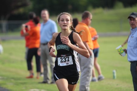 Kathleen Yates won a tri-meet against New Kent and Poquoson. (file photo)