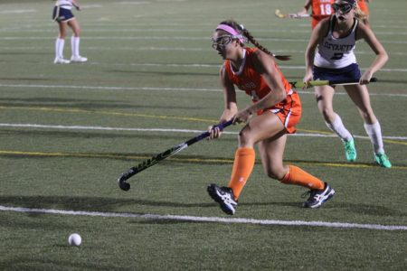 Miya Denison scored a late goal for Tabb against Poquoson. (file photo)