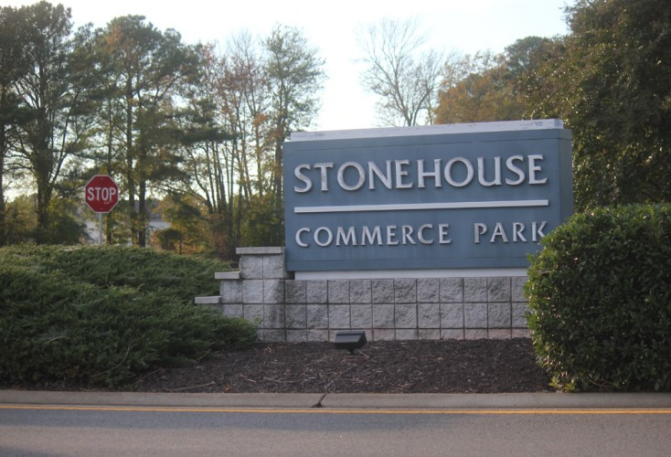 The Stonehouse Commerce Park in Toano is part of the enterprise zone that will expire at the end of the year. (Nicole Trifone/WYDaily)