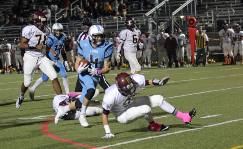 Bryce Koob rushed for three touchdowns during a rout over Jamestown. (file photo)