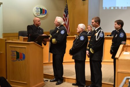 The James City-Bruton Volunteer Fire Department were among the 2015 recipients of James City County's Chairman's Awards. (Courtesy James City County)