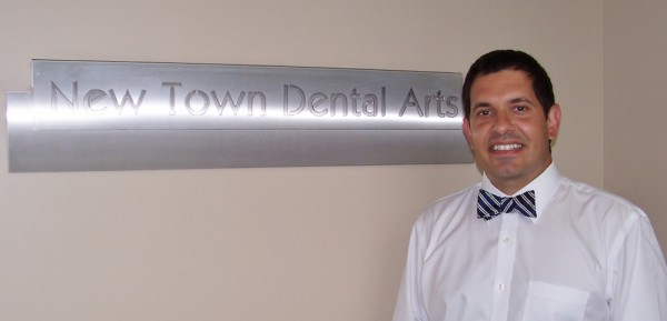 Dr. Omar Hasham has recently joined the team at New Town Dental Arts. (Courtesy New Town Dental Arts)