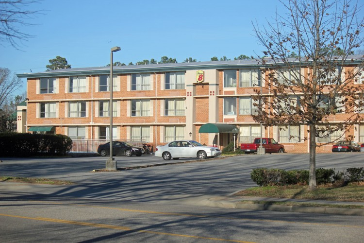 The City of Williamsburg has purchased the Super 8 Motel on Richmond Road. (Nicole Trifone/WYDaily)