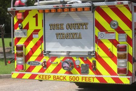 york fire truck
