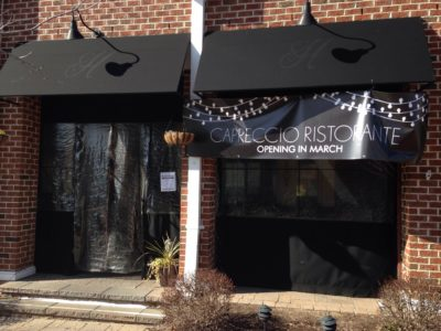 Capriccio Ristorante will take over the location where Hogarth's Bar and Bistro was located. (Ty Hodges/WYDaily)