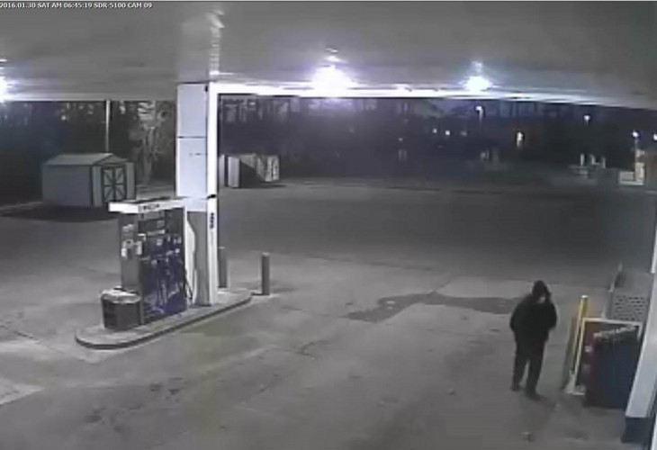 The York-Poquoson Sheriff's Office is looking for information regarding a robbery at the Tabb Exxon. (Courtesy of YPSO)