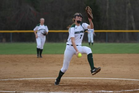 Jamestown pitcher Madalyn Morton pitched against New Kent. (file photo)